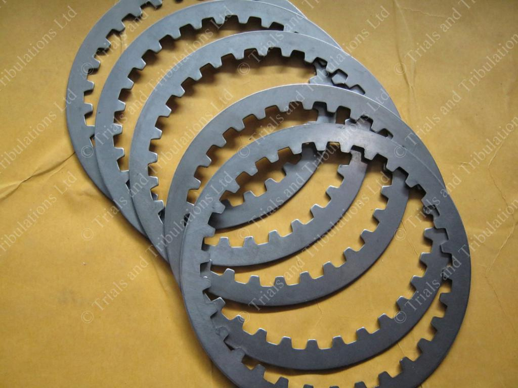 Sherco clutch steel plate set (2001-onwards)