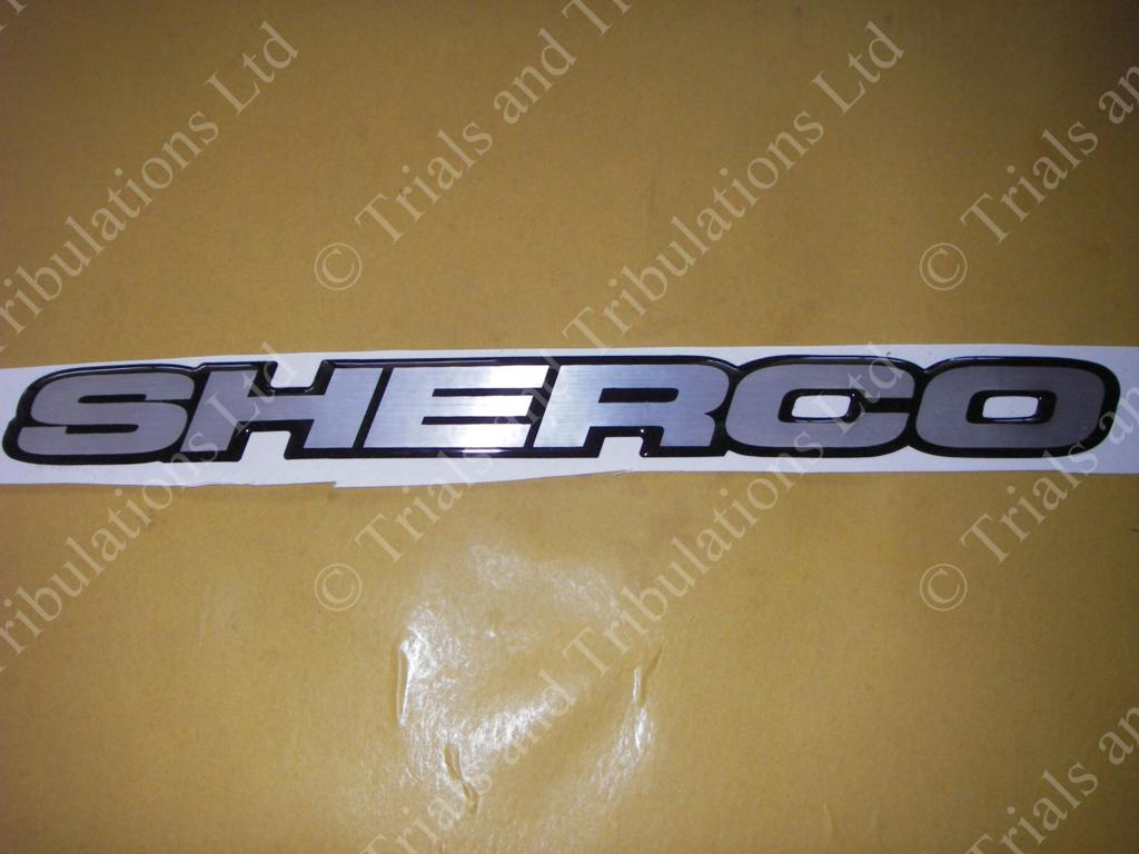 Sherco Frame graphic(priced as single's)