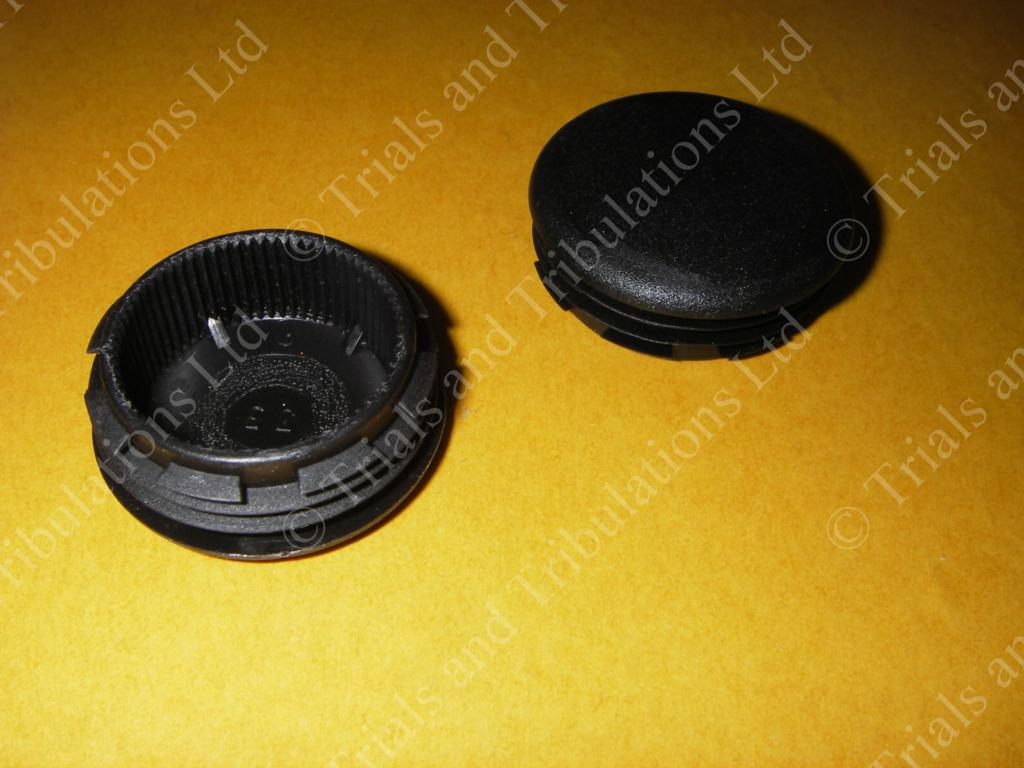 Sherco swingarm spindle cap (priced each)