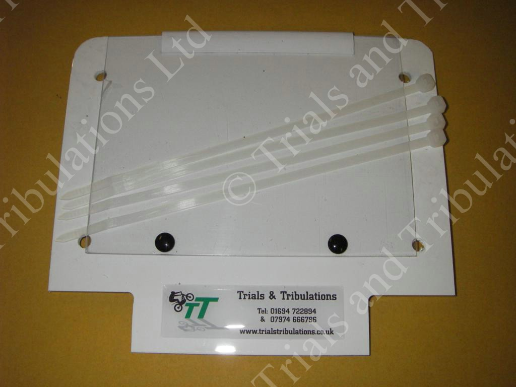 Trials number board White