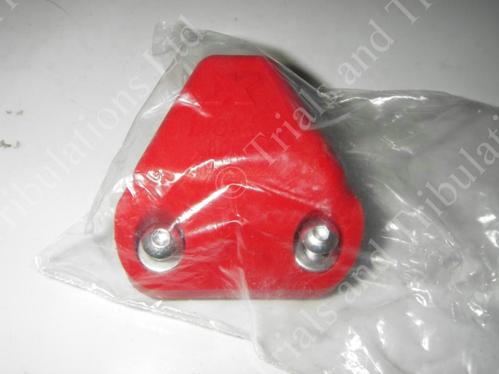 Chain tensioner block Red