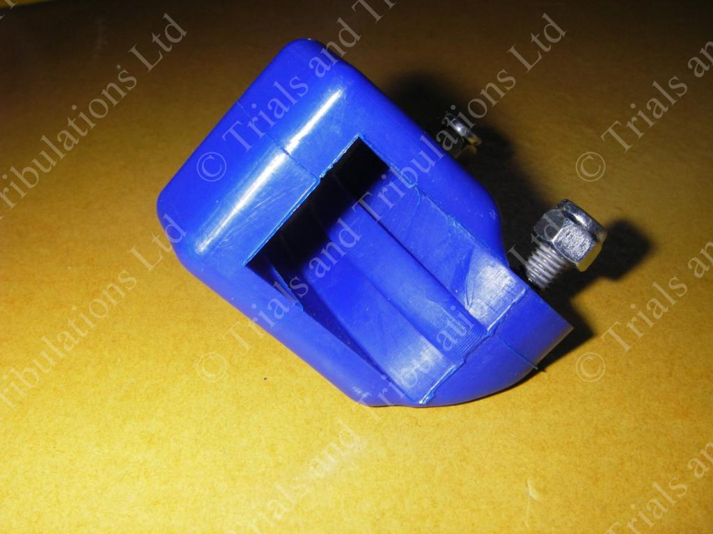 Chain tensioner block Blue